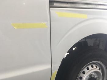 スズキ「エブリイ」古傷や劣化キズが全体に / 和歌山の板金塗装・自動車修理はプロモワカヤマ