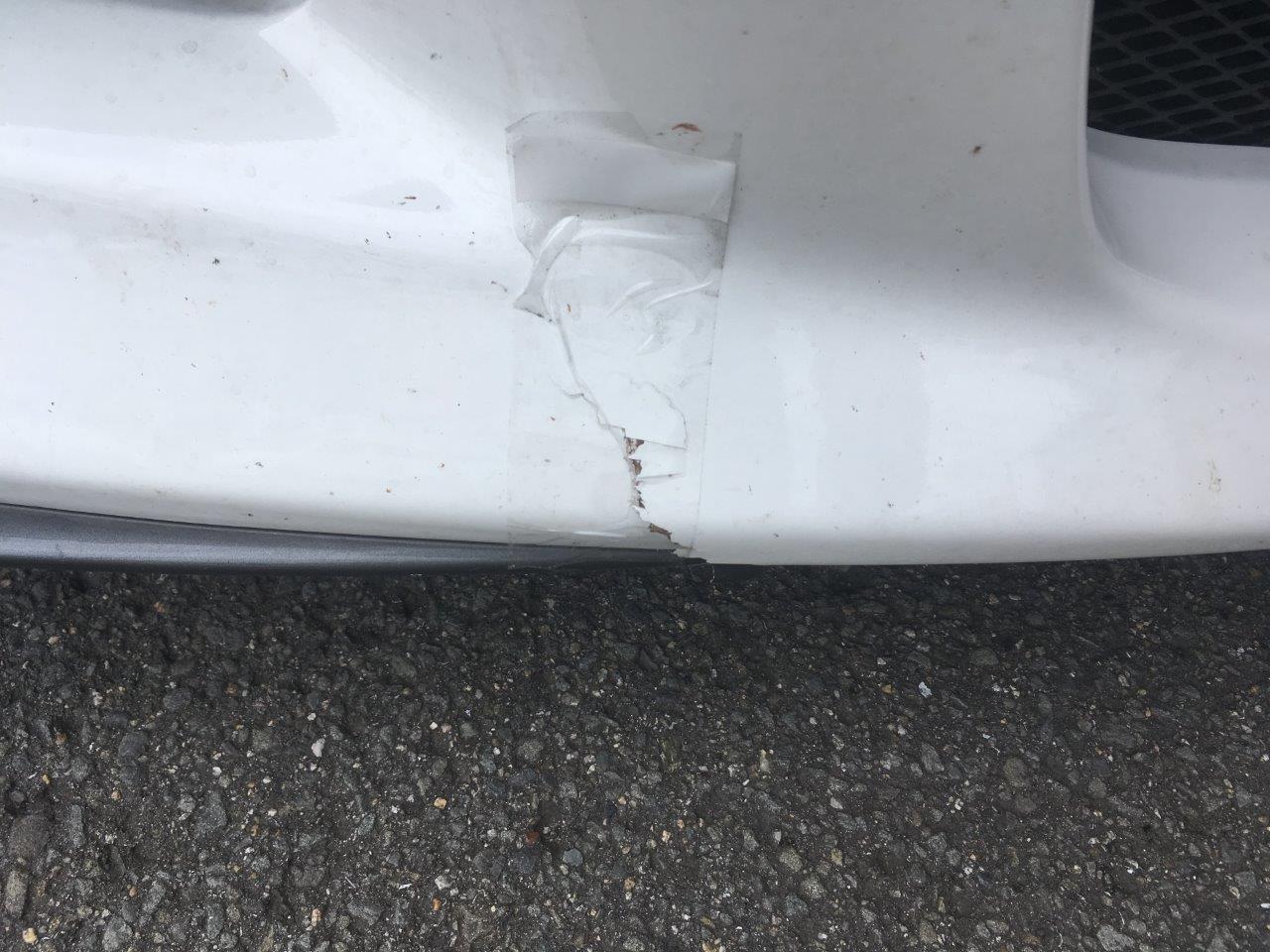 マツダ「RX-8」フロントバンパワレ修理 / 和歌山の板金塗装・車修理はプロモワカヤマ